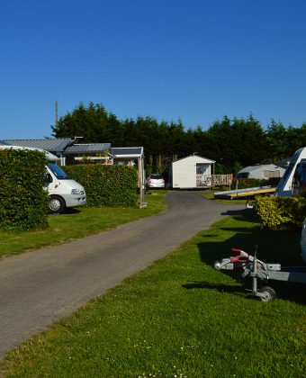 Emplacement camping Saint-Malo